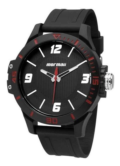 Relógio Mormaii Masculino Wave Mo2035fl/8r Vermelho O