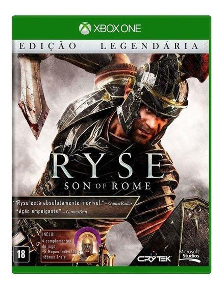 Ryse Son Of Rome Edição Legendária Xbox One Mídia Física