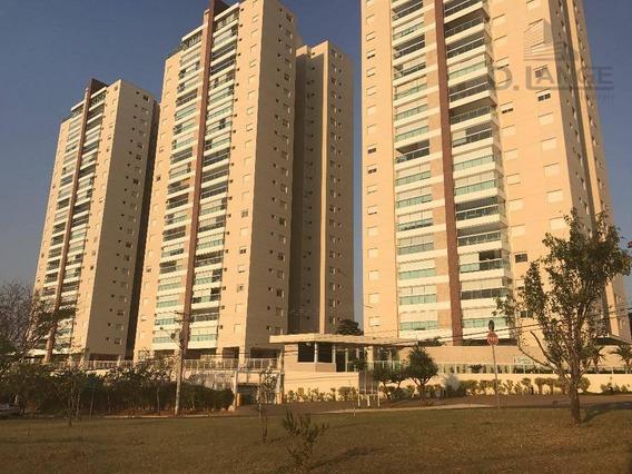 Apartamento Com 3 Dormitórios À Venda, 137 M² Por R$ 1.050.000,00 - Alphaville - Campinas/sp - Ap15957