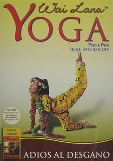 Dvd Yoga Intermedia Wai Lana Adios Al Desgano Nvo Castellano