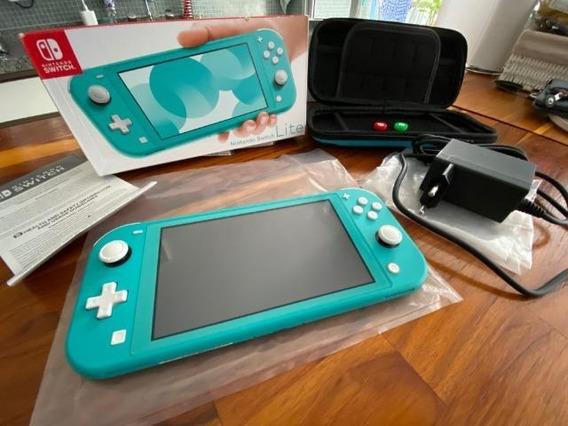 Nintendo Switch Lite Novíssimo C/ Garantia 32gb
