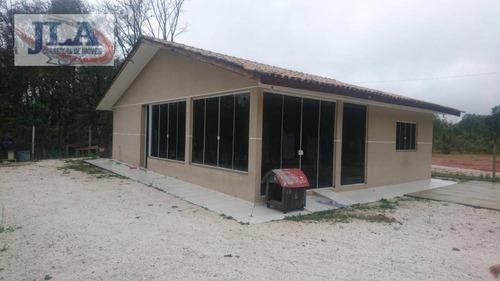 Chácara Com 3 Dormitórios À Venda, 4000 M² Por R$ 560.000,00 - Centro - Colombo/pr - Ch0008