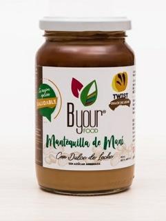Mantequilla De Maní Twist De Dulce De Leche 400 Gr.