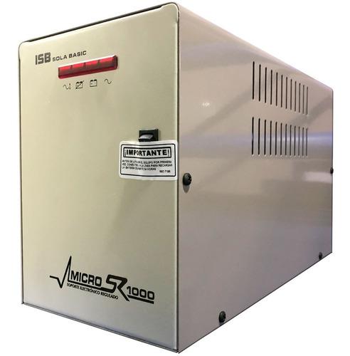 Nobreak Sola Basic Micro Sr 1000 1000va/650w 60min Xr-21-102