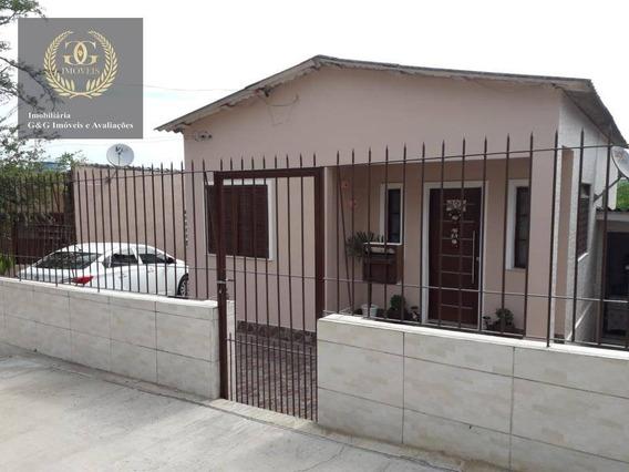 Casa Com 4 Dormitórios À Venda, 138 M² Por R$ 265.000 - Jardim Universitário - Viamão/rs - Ca0450