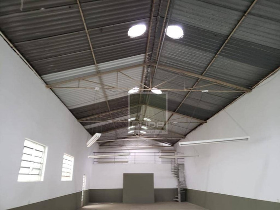 Galpão Para Alugar, 450 M² Por R$ 9.000/mês - Vila Santa Catarina - São Paulo/sp - Ga0043