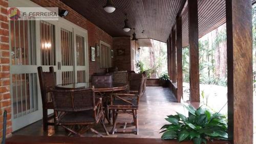 Chácara Com 4 Dormitórios À Venda, 35000 M² Por R$ 1.300.000 - Embu Mirim - Itapecerica Da Serra/sp - Ch0069