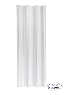 Puerta Plegadiza Reforzada Pvc 10mm Completa 0,75 X 2m