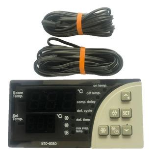 Control Digital De Temperatura Mtc5080 Combistato 2 Sensores