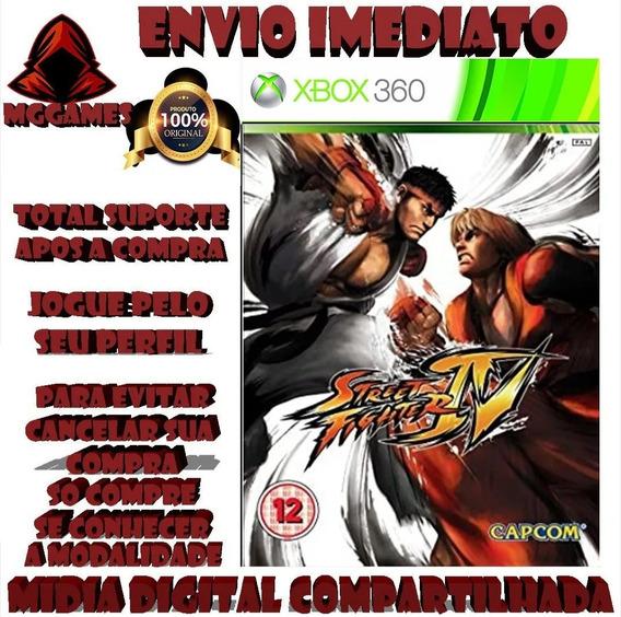 Street Fighter 4® Xbox 360 - Midia Digital Compartilhada