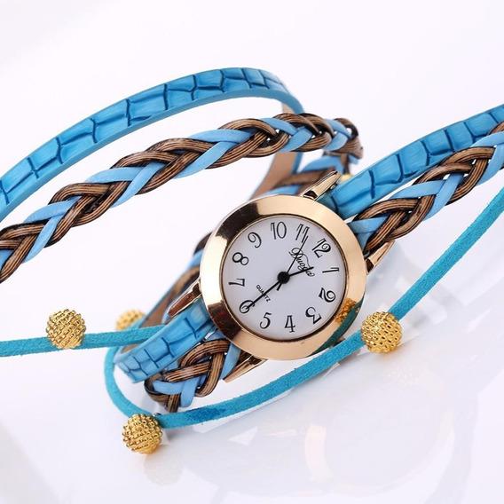 Relógio Feminino De Luxo Lindo Pronta Entrega + Brinde