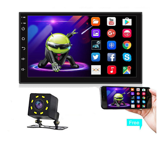 Auto Estéreo Pantalla Android8.0 Wifi Gps Mirrorlink Camara