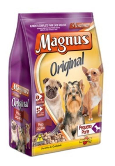 Magnus Dog Adulto Original 15 Kg Racas Pequenas