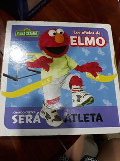 Oferta! Coleccion Plaza Sésamo - Los Oficios De Elmo $ 2,00