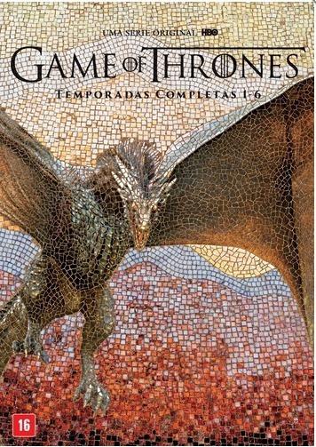 Dvd Game Of Thrones Temporadas 3,4,5,6 E 7 Completas