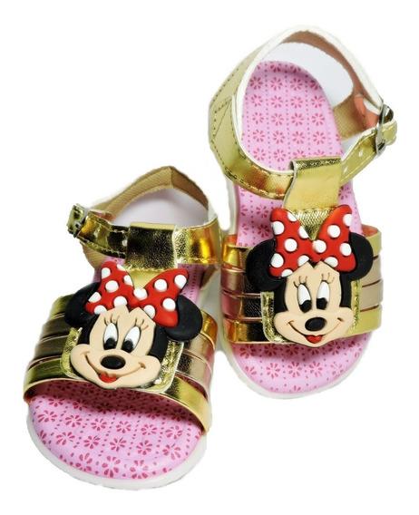 Sandália Minie Mickey Baby Kids - R$ 29,99