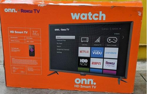 Smart Tv De 32 Pulgadas Onn En Su Caja Y Completos