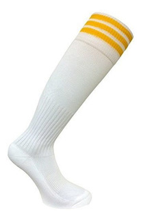 Pro Stripe Soccer Calcetines Color Blancooro Medio Soc1523
