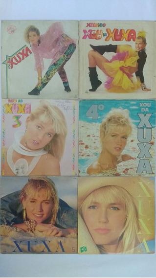 6 Lps Da Xuxa Disco De Vinil Infantil Frete Grátis
