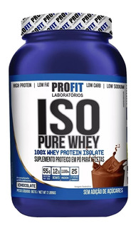 Iso Pure Whey 100% Isolado 907g - Profit Labs