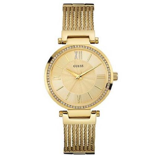 Relógio Feminino Dourado Guess Analógico