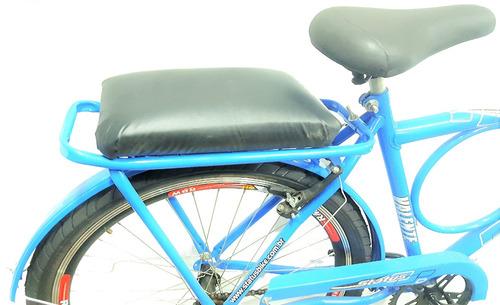 Imagem 1 de 4 de Assento Almofada P/ Bagageiro De Bicicleta Universal ***