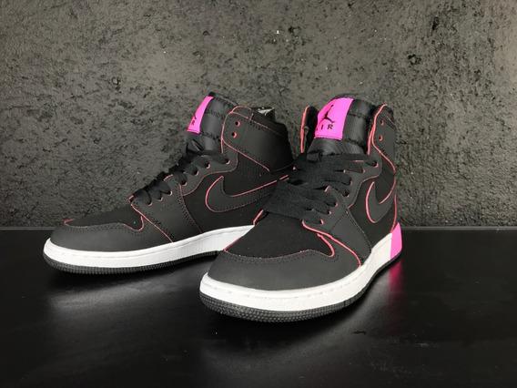 Air Jordan 1 Retro High Gs Heiress Black/pink