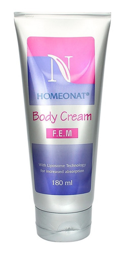 Homeonat Crema Nutritiva Femenina - mL a $206