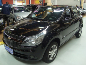 Chevrolet Agile Ltz 1.4 Flex 2013 Preto (completo + Air Bag)
