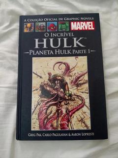 Planeta Hulk Marvel Salvat Hq Capa Dura