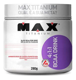 Bcaa Drink 4:1:1 Max Titanium 280 Gr