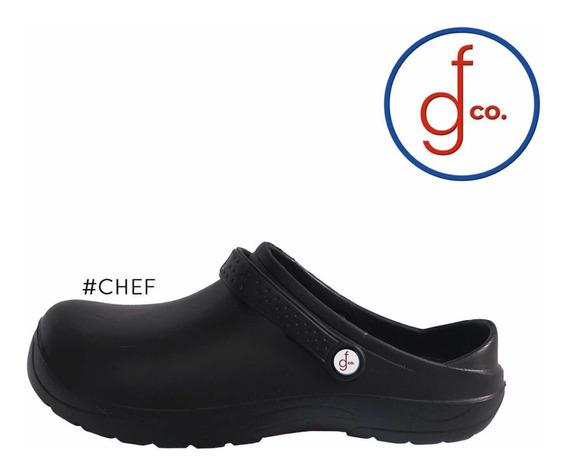 Calzado Para Chef Antiderrapante De Eva Unisex Efege