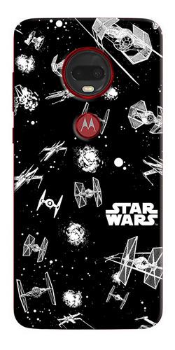 Funda Estuche Forro Star Wars Naves Xiaomi Nokia Asus