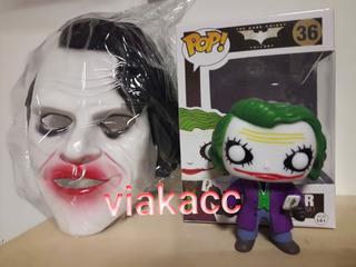 Muñeco + Mascara Del Jocker