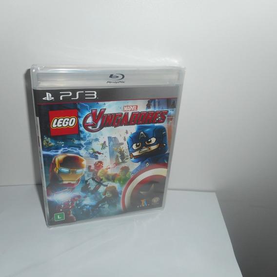Lego Vingadores Marvel Ps3 Mídia Física Novo Lacrado