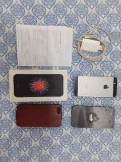 iPhone SE Cinza 128 Gigas