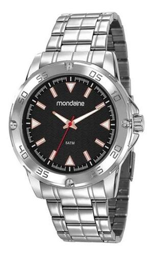 Relógio Masculino Analógico Mondaine Prata 83458gomvne1