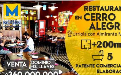 Cerro Alegre, Restaurant Italiano La Bruschetta , Urriola Con Almirante Montt