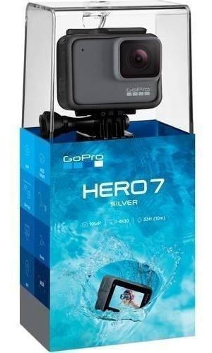 Gopro Hero 7 Silver Novo Original Lacrado