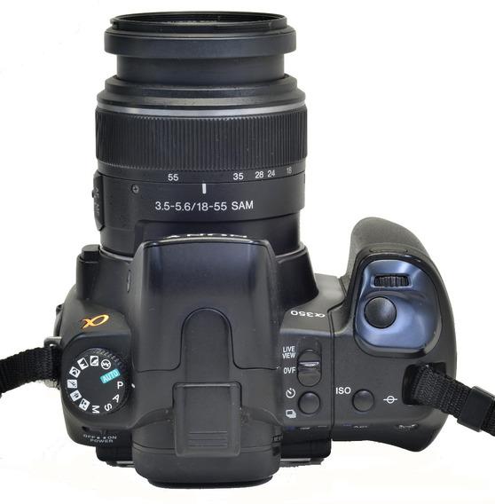 Sony A350 + 18-55mm + Grip 0825899
