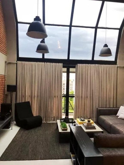 Loft Em Jardim Guedala, São Paulo/sp De 115m² 1 Quartos À Venda Por R$ 1.800.000,00 - Lf189502