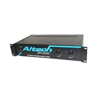 Potencia Dj Altech Xp2000 400w Amplificador De Sonido