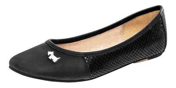 Zapato De Piso Dama Ferrioni J3120ng Negro 22-26 066-811 T4