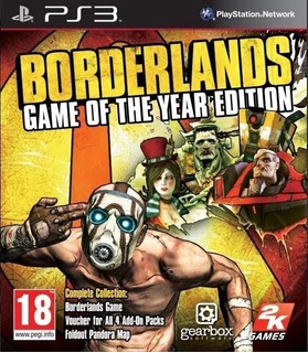 Borderlands Edicion Goty Ps3 Original - Play Perú