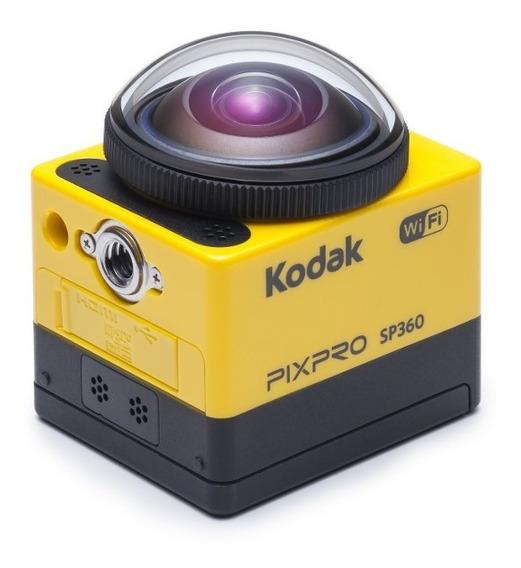 Kodak Action Cam Sp 360 Gran Angular - Incluye Accesorios!