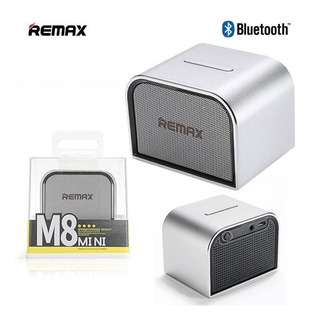 Parlante Bluetooth M8 Mini Aux Metal Android iPhone Portatil