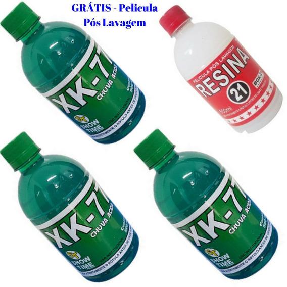 Chuva Ácida Removedor Xk-77 - 03 Frascos + Brinde Resina