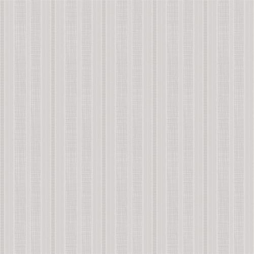 Imagem 1 de 2 de Papel De Parede Estilo Tradicional Listrado Cinza 0.53x10m