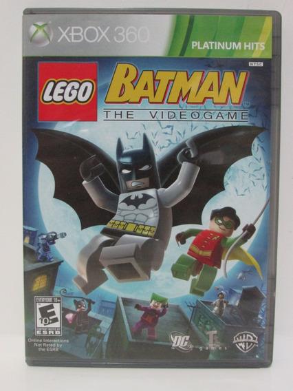 Lego Batman The Videogame - Xbox 360 Original Completo