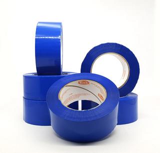 Cinta Adhesiva Empaque Tuck Color Azul 150 M